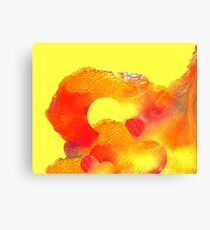 Abstract Clouds 14 Canvas Print