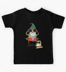 Wizard and Cat Kids Clothes