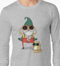 Wizard and Cat Long Sleeve T-Shirt