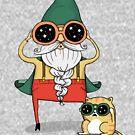 Zauberer und Katze von agrapedesign