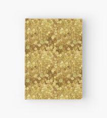 Gold Coins design Hardcover Journal