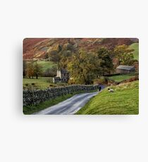 Autumn in Martindale Canvas Print