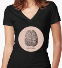 Use it well Women's Fitted V-Neck T-Shirt