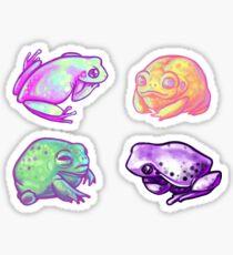Silent Rainbow Friends Sticker