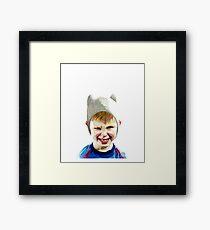 The Boy Framed Print