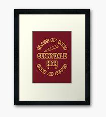 Sunnydale Class of 1999 Framed Print