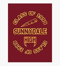 Sunnydale Class of 1999 Photographic Print