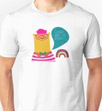 90s hip hop series - bear, also see goat, unicorn, octopus T-Shirt