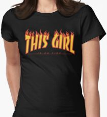 This Girl Is On Fire (Trasher) T-Shirt