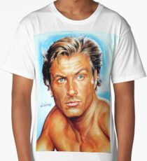 Lex Barker - Tarzan the Apeman, painting portrait, poster Long T-Shirt