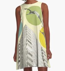 High Flyers A-Line Dress