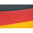 German flag abstract by stuwdamdorp