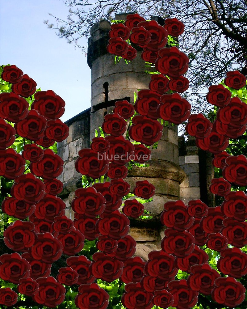 Romantic Turrets and Roses by blueclover