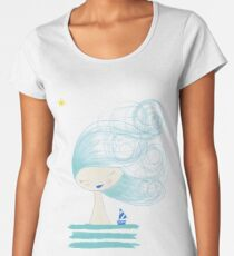 Ship and star Women's Premium T-Shirt