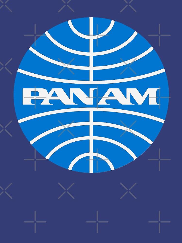 Vintage Pan Am Airlines 1970er Jahre von Drewaw