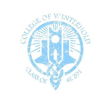 College of Winterhold by AngryMongo