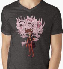 Oblivious Et Al Men's V-Neck T-Shirt