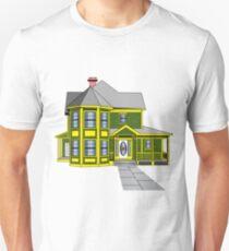 Gingerbread House Art T-Shirt