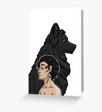 Sirius and Padfoot Greeting Card