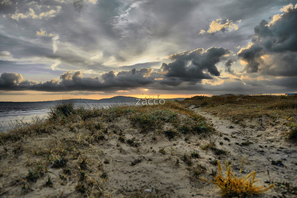 sandy path aberafan beach by zacco