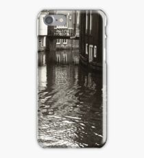 Rhythms of Amsterdam Reflections. Black and White iPhone Case/Skin