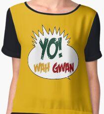 Yo! Wah Gwan Women's Chiffon Top