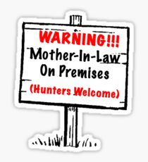 Mother-In-Law Tee Sticker
