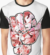 Shaka Design Graphic T-Shirt