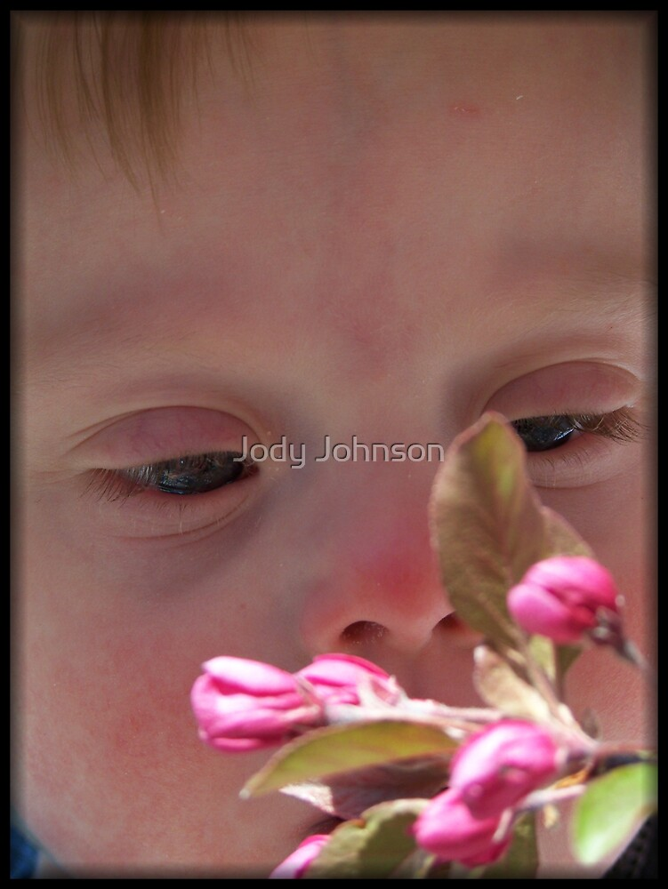 I can smell it mommy... by Jody Johnson