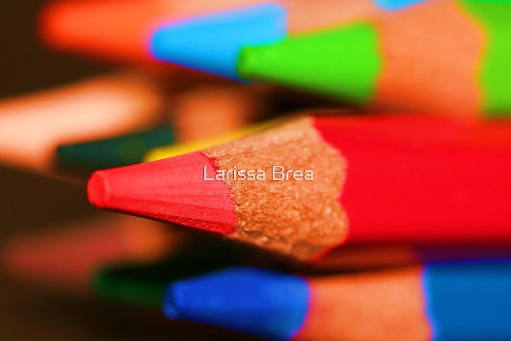 Lapices de Colores by Larissa Brea