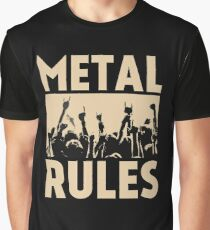 Metal Rules Graphic T-Shirt