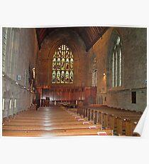 Inside Dunkeld Parish Church Poster