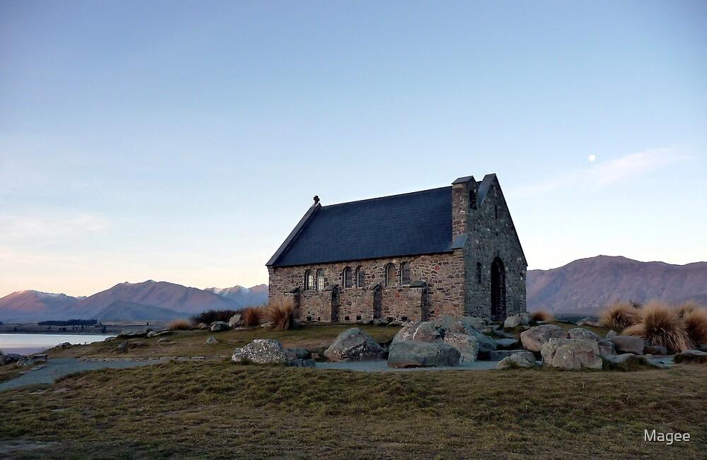 That little church again by Magee