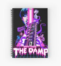 Don't Wake The Damp Sci Fi Poster Spiral Notebook