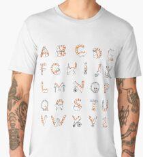 Circus cat alphabet Men's Premium T-Shirt