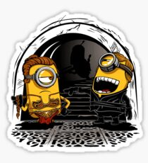 Despicable Twins Sticker