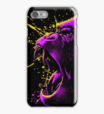 Psychedelic gorilla iPhone Case/Skin