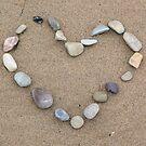 pebble heart by Wrigglefish