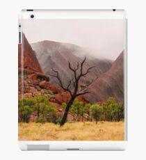 Morning Mist Over Uluru - Central Australia iPad Case/Skin