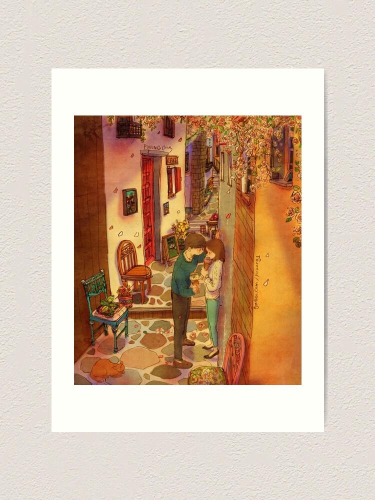 Alternate view of In the alleyway Art Print