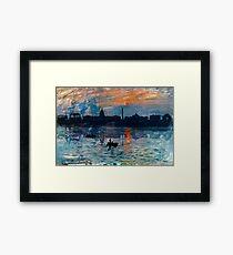 Washington Skyline 1 Framed Print