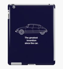 """Citroen DS Graphic art, """"Greatest invention since the car"""" iPad Case/Skin"""