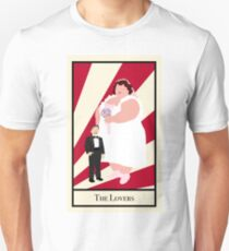 The Lovers - Circus Tarot Card T-Shirt