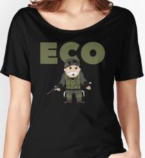 Counter-Strike Global Offensive and Monopoly Crossover - Hard Eco Women's Relaxed Fit T-Shirt