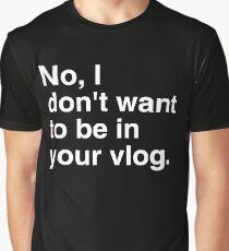VLOG White  Graphic T-Shirt