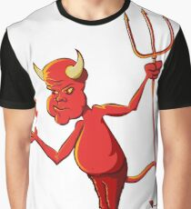 Devil Character Graphic T-Shirt