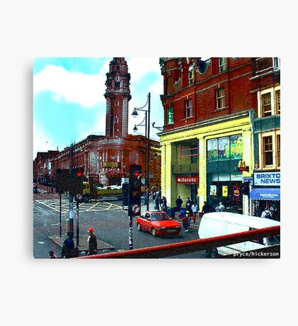 Mickey D's in London Canvas Print
