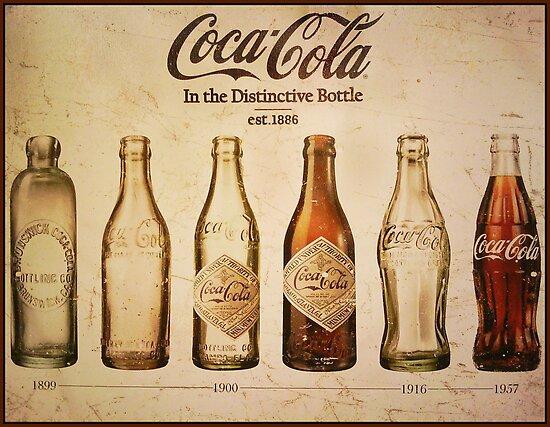 Coca Cola Vintage Poster By CJ Anderson