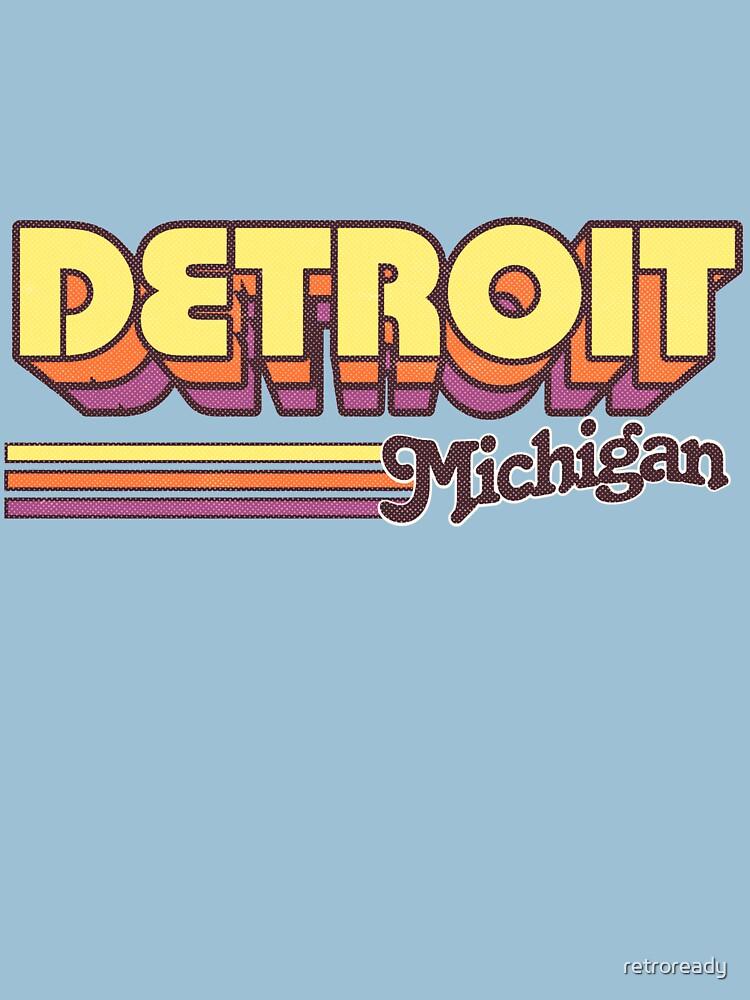 Detroit, MI | City Stripes by retroready