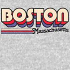 Boston, MA | City Stripes by retroready